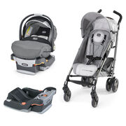 Mix Match II KeyFit 30 Car Seat & Liteway Plus Stroller  Bundle - FREE Base in