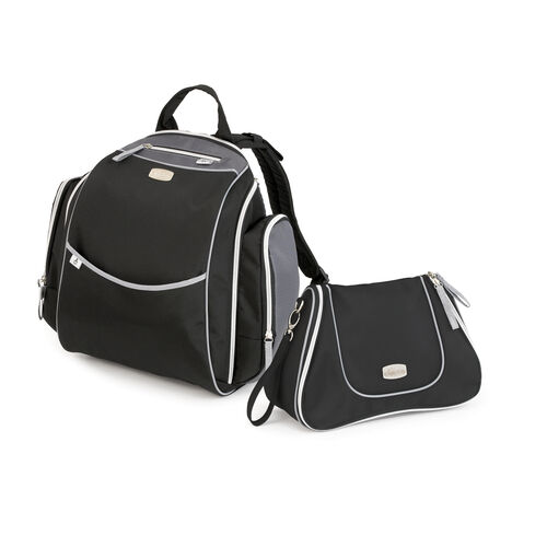 Chicco Urban Backpack and Dash Bag Diaper Bag - Black