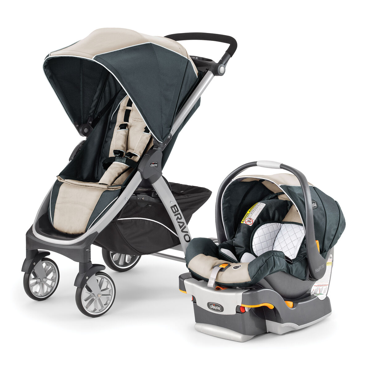 Chicco Chicco Bravo Trio Travel System Silverspring