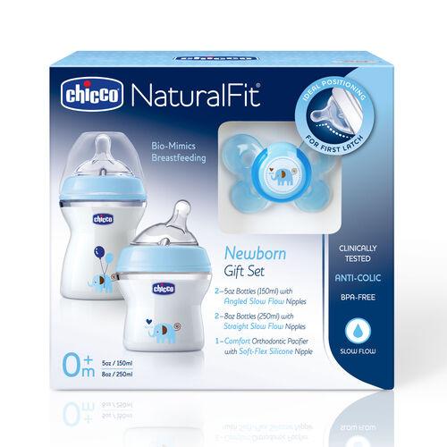 NaturalFit Newborn Gift Set - Blue Deco in