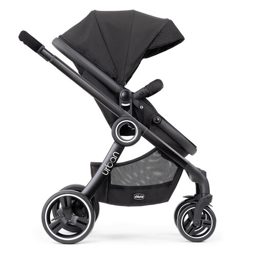 Older kids will love to ride in the Urban 6-in-1 Modular Stroller in forward-facing toddler stroller mode