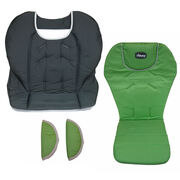 Replacement Seat pad, seat cover, and harness shoulder strap pads for Chicco Polly Highchair - Midori