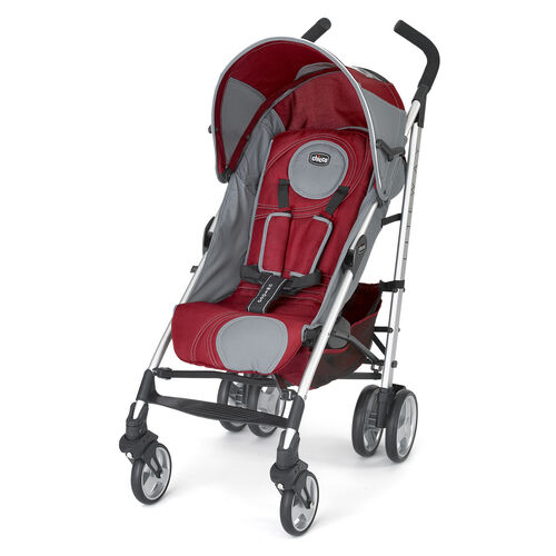 Chicco Liteway Stroller in dark red with gray accents - Magma Style