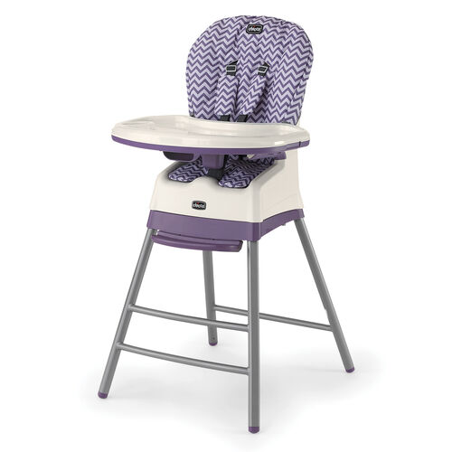 The Stack 3 in 1 multi chair highchair converts from infant, to toddler to big kid stool.  An all in one highchair!