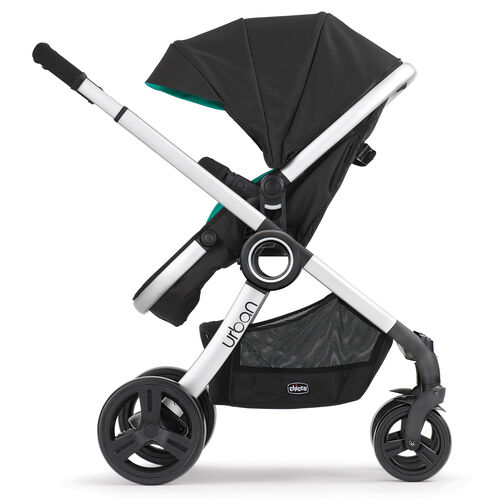 Chicco Urban 6-in-1 Modular Stroller in rear-facing toddler stroller configuration