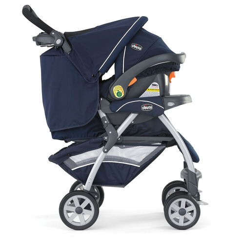 The Cortina Stroller is made for use with the KeyFit 30 Infant Car Seat to form a travel system