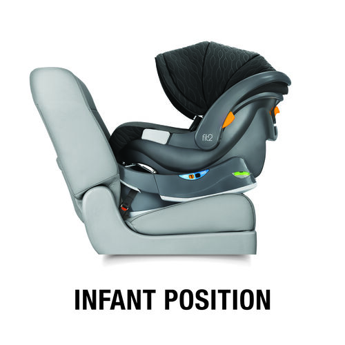 Fit2 Rear-Facing Infant & Toddler Car Seat & Base - Legato in