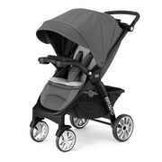 Chicco Bravo LE Stroller in Coal Gray and Black