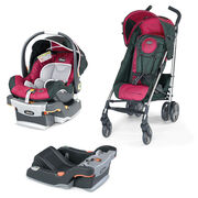 Aster KeyFit 30 Car Seat & Liteway Plus Stroller Bundle - FREE Base in