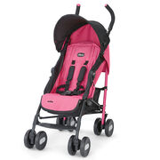 Chicco Echo Lightweight Stroller in pink Dragonfruit with black accents