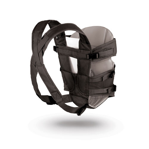 Adjustable, padded straps on the UltraSoft Carrier provide support and comfort for parents