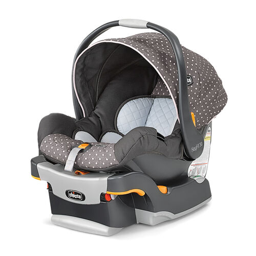 Chicco Keyfit 30 Infant Car Seat and Base-LILLA grey with light pink polka dot at Sears.com