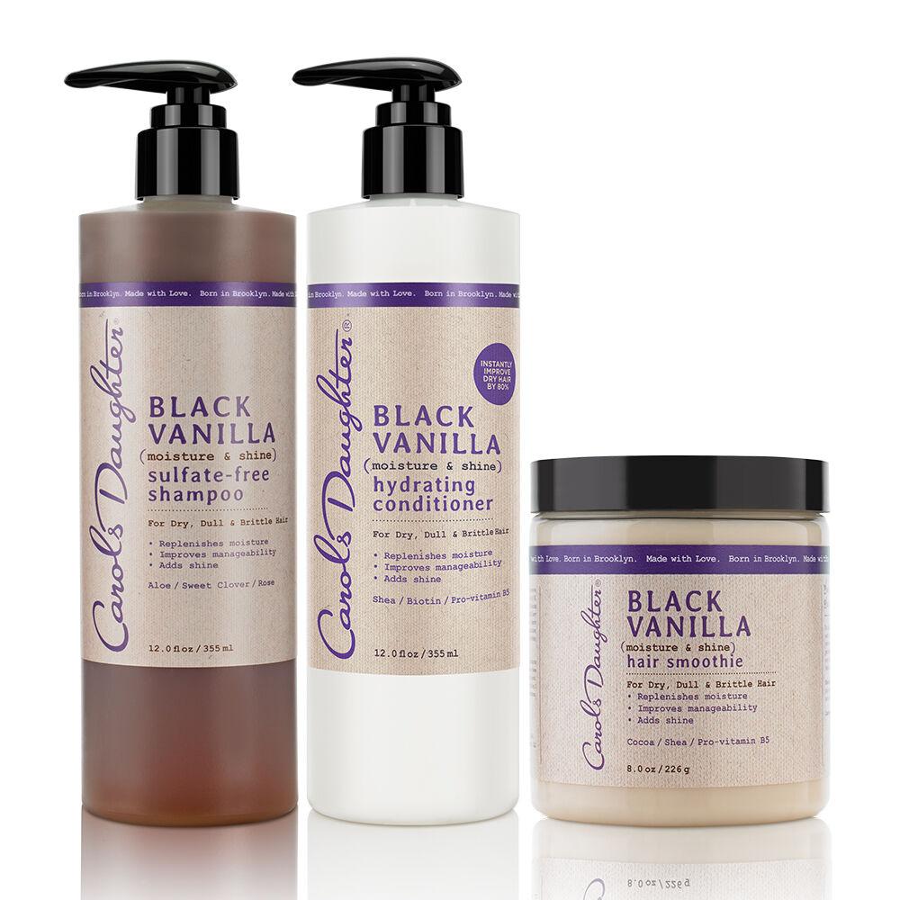 Black Vanilla Conditioning Hair Set VS0267