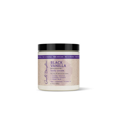 Black Vanilla Body Cream