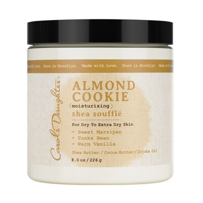 Almond Cookie Shea Soufflé
