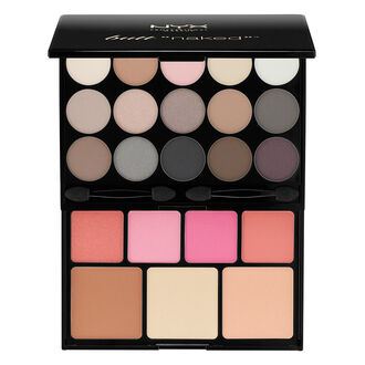 butt naked eyes makeup palette nyx cosmetics. Black Bedroom Furniture Sets. Home Design Ideas