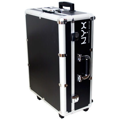 X large makeup artist train case with lights nyx cosmetics for Miroir 9 cases