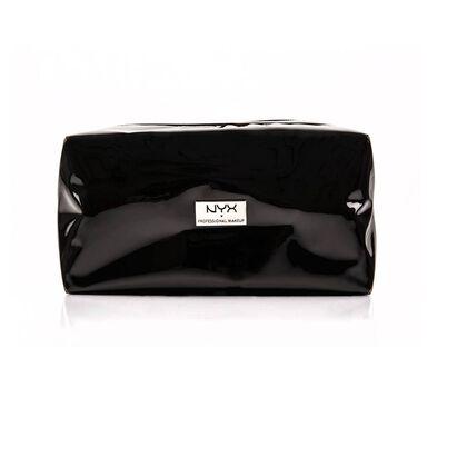 Large Vinyl Zipper Makeup Bag