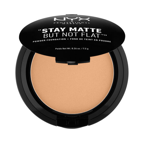 Stay Matte But Not Flat Powder Foundat