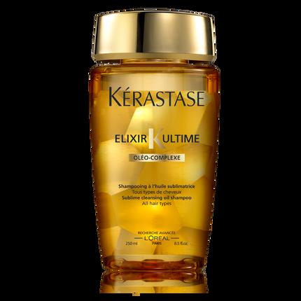 Kerastase bain elixir ultime gentle paraben free hair for Kerastase bain miroir shine