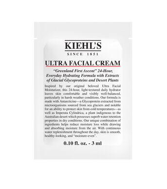 Ultra Facial Cream Sample