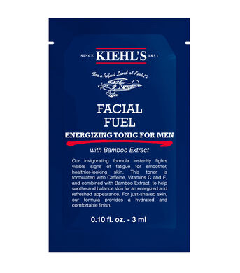 Facial Fuel Energizing Tonic for Men Sample