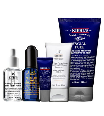 Anti-Dark Spot Hydrating with Tinted UV Protection Routine for Men