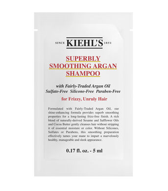 Superbly Smoothing Argan Shampoo Sample