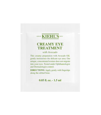Creamy Eye Treatment with Avocado Sample