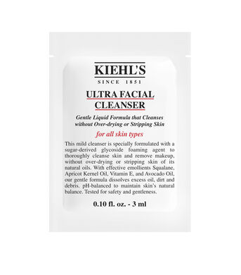 Ultra Facial Cleanser Sample