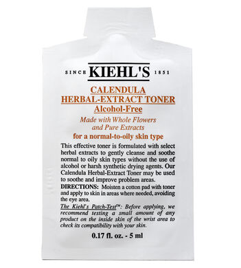 Calendula Herbal Extract Alcohol-Free Toner Sample