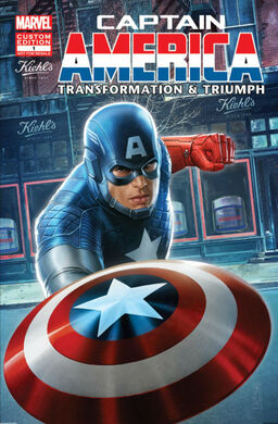 Limited Edition Captain America Comic Book