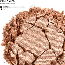 Eyeshadow in color Easy Baked