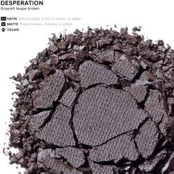 Eyeshadow in color Desperation