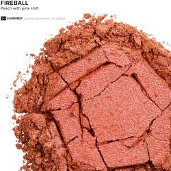 Eyeshadow in color Fireball