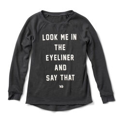 Eyeliner Sweatshirt in color
