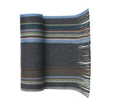 Striped Wool Knit Scarves