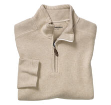 Ribbed Quarter-Zip