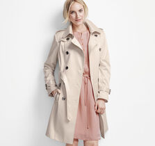 Sateen Soft Trench