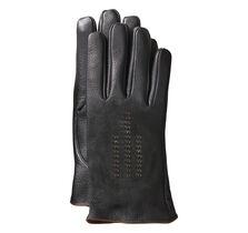 Contrast-Stitch Smart Gloves