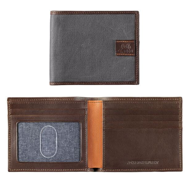 Est. 1850 Canvas Super Slim Wallet