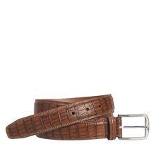 Croc Print Belt