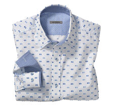 Slim Fit Square Clip Shirt