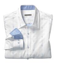 Slim Fit Textured Stripe Shirt
