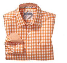 Tailored Fit Sateen Gingham