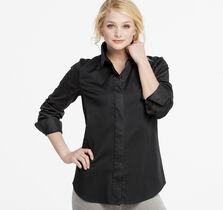 Classic Button-Front Shirt
