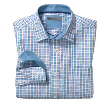 Watercolor Check Shirt