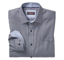 Micro Twill Windowpane Shirt