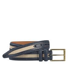 Linen Perfed Belt