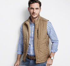 Mini Square Quilted Vest